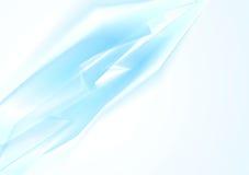 Abstrakcjonistycznej techniki wektorowy błękitny tło Fotografia Stock