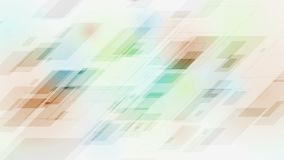 Abstrakcjonistycznej technologii stubarwna wideo animacja zbiory