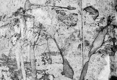 Abstrakcjonistycznej tekstury psychodeliczny czarny i biały Zdjęcia Royalty Free