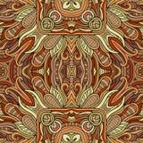 Abstrakcjonistycznej wektorowej dekoracyjnej natury etniczna ręka Fotografia Royalty Free