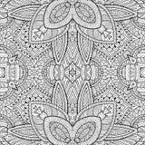 Abstrakcjonistycznej wektorowej dekoracyjnej natury etniczna ręka Zdjęcia Royalty Free