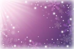 Abstrakcjonistycznej zimy świąteczny tło Pogoda dla bożych narodzeń Obraz Royalty Free