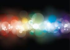 abstrakcjonistyczni światła Obraz Royalty Free