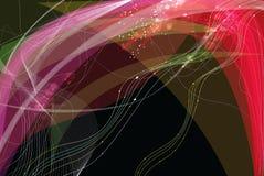 abstrakcjonistyczni światła ilustracja wektor