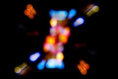 abstrakcjonistyczni światła Obrazy Royalty Free