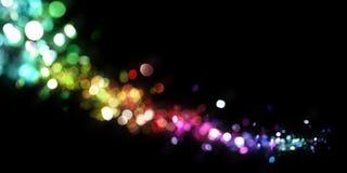 abstrakcjonistyczni światła Zdjęcia Royalty Free