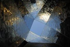 abstrakcjonistyczni architektoniczni szczegóły Zdjęcie Stock