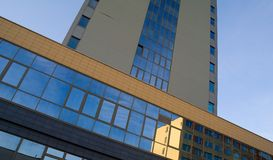 Abstrakcjonistyczni architektura szczegóły Fotografia Stock