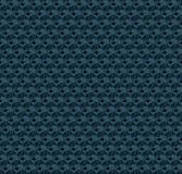 abstrakcjonistyczni błękitny sześciany Bezszwowy deseniowy tło świadczenia 3 d royalty ilustracja