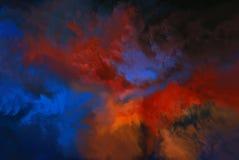 abstrakcjonistyczni barwy Obrazy Royalty Free