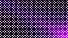 Abstrakcjonistyczni Bezszwowi diamenty i okręgi w Gradated purpur tle fotografia royalty free