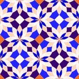 Abstrakcjonistyczni bezszwowi geometryczni wzory Zdjęcie Royalty Free