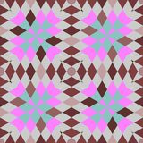 Abstrakcjonistyczni bezszwowi geometryczni wzory Zdjęcia Stock
