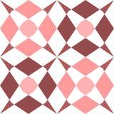 Abstrakcjonistyczni bezszwowi geometryczni wzory Obrazy Stock