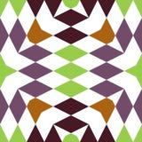 Abstrakcjonistyczni bezszwowi geometryczni wzory Obraz Stock