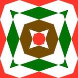 Abstrakcjonistyczni bezszwowi geometryczni wzory Obrazy Royalty Free