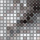 abstrakcjonistyczni bezszwowi kwadraty Obrazy Royalty Free