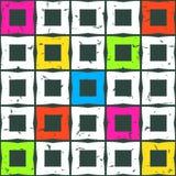 Abstrakcjonistyczni bezszwowi wzory. Obrazy Royalty Free