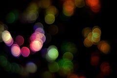 Abstrakcjonistyczni bokeh światła Obraz Royalty Free
