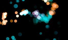 Abstrakcjonistyczni bokeh światła Zdjęcie Royalty Free