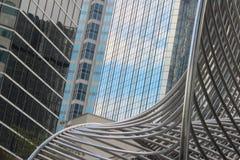 abstrakcjonistyczni budynków Obrazy Royalty Free