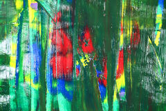 Abstrakcjonistyczni colours w czerwieni ilustracja wektor
