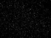 Abstrakcjonistyczni cząsteczki błyskotliwości światła Zdjęcia Royalty Free