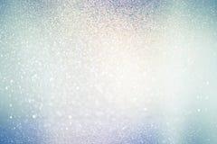 Abstrakcjonistyczni defocused światła, iskrzasty wakacyjny bokeh tło Obraz Stock