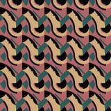 abstrakcjonistyczni deseniowi bezszwowi kształty Obraz Royalty Free