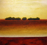 abstrakcjonistyczni drzewa ilustracji