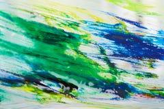 Abstrakcjonistyczni farba narysy fotografia royalty free