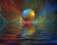 abstrakcjonistyczni fractals Zdjęcia Royalty Free