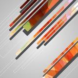 Abstrakcjonistyczni futurystyczni kształty Obrazy Royalty Free