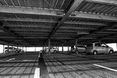 abstrakcjonistyczni garażu parking wzory Obrazy Royalty Free