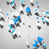 Abstrakcjonistyczni geometryczni kształty Zdjęcia Stock