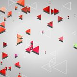 Abstrakcjonistyczni geometryczni kształty Zdjęcia Royalty Free