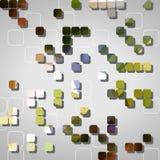 Abstrakcjonistyczni geometryczni kształty Fotografia Royalty Free