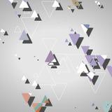 Abstrakcjonistyczni geometryczni kształty Zdjęcie Royalty Free