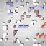 Abstrakcjonistyczni geometryczni kształty Obraz Royalty Free