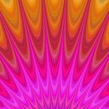 Abstrakcjonistyczni geometryczni płomienie od piekła ilustracji