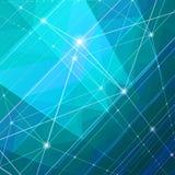 Abstrakcjonistyczny błękitny tło. Zdjęcie Royalty Free