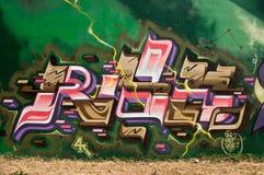 abstrakcjonistyczni graffiti Obrazy Stock