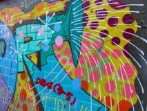abstrakcjonistyczni graffiti Fotografia Royalty Free