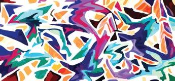 abstrakcjonistyczni graffiti ilustracji