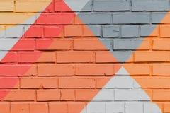 Abstrakcjonistyczni graffiti na ścianie, bardzo mały szczegół Uliczny sztuki zakończenie, elegancki wzór Może być pożytecznie dla Obrazy Stock
