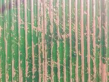 Abstrakcjonistyczni graffiti na galwanizującej panwiowej żelaznej metalu prześcieradła kipieli Fotografia Royalty Free