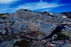 Abstrakcjonistyczni granitów kolory Obraz Stock