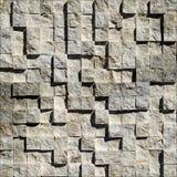 Abstrakcjonistyczni jaskrawi kamieniści sześciany Fotografia Royalty Free