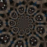 abstrakcjonistyczni kółkowi wzory Obraz Royalty Free