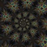 abstrakcjonistyczni kółkowi wzory Zdjęcia Royalty Free